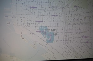 Cloud firefighting with real maps