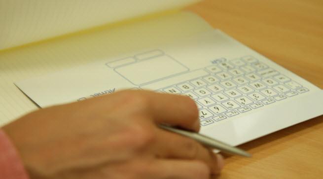 CSR thinnest keyboard