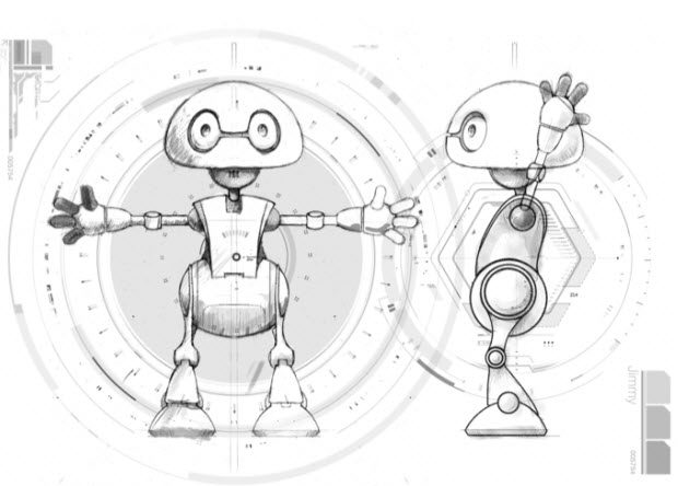 Intel robot Jimmy