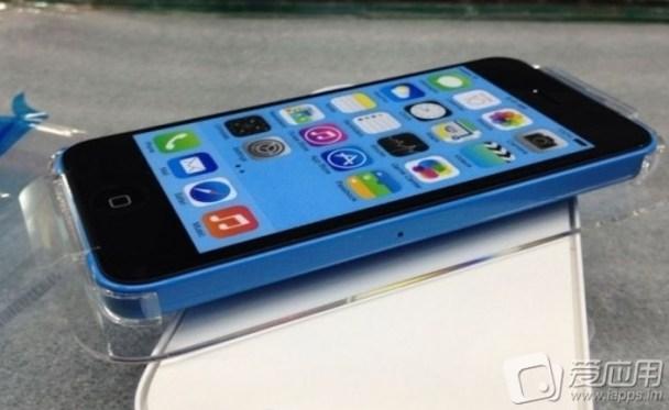 iphone 5c packaging blue