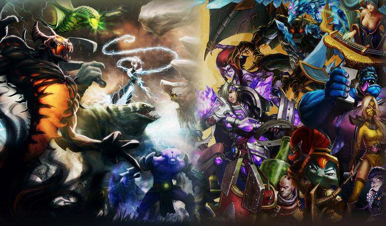 DOTA 2 vs League of Legends