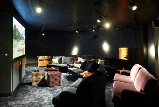 Games and movie room