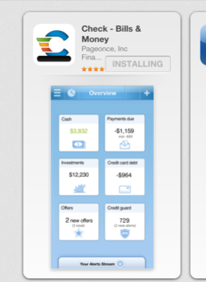 The Check app is available to download free of charge