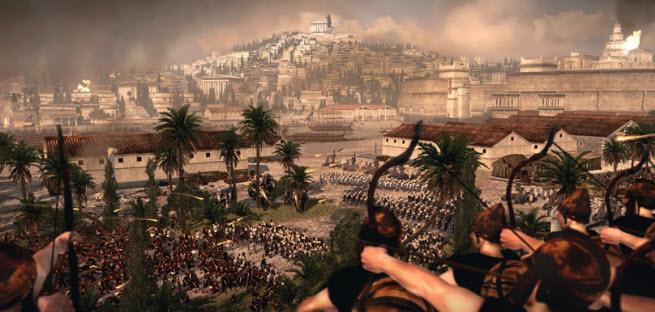 Total War: Rome II archers