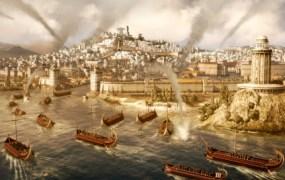 Rome II epic sea battle