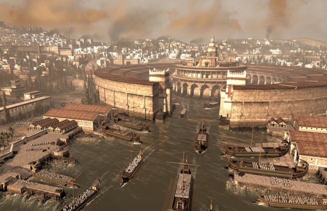 Rome II sea citadel