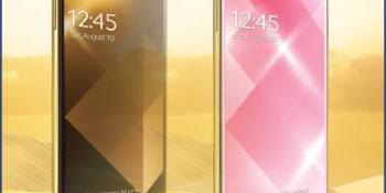 Samsung plans for curved display smartphone in October, announces gold Galaxy S4