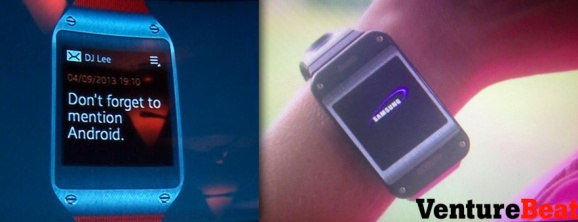 Samsung officially announces the Galaxy Gear smartwatch ...