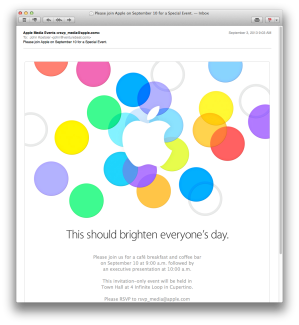 apple sept 10 invite