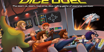 Great tabletop games for video gamers: Space Cadets: Dice Duel