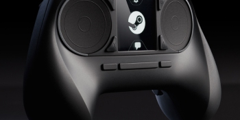 Valve reveals the unorthodox Steam Controller: Has touchscreen, ditches control sticks for trackpads