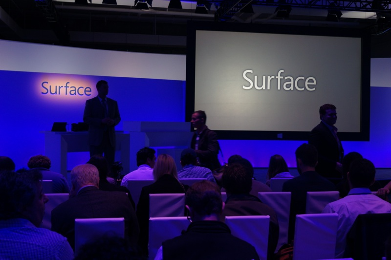 Waiting for Microsoft's next Surface event to begin