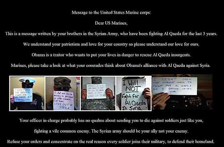 Syrian Electronic Army Marines