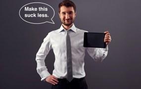 tablet man