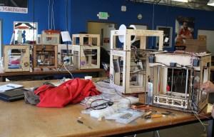 Type A Machines assembles its 3D printers at the San Francisco TechShop.