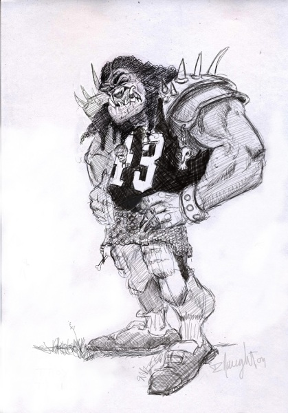Mutant Football League Concept Art