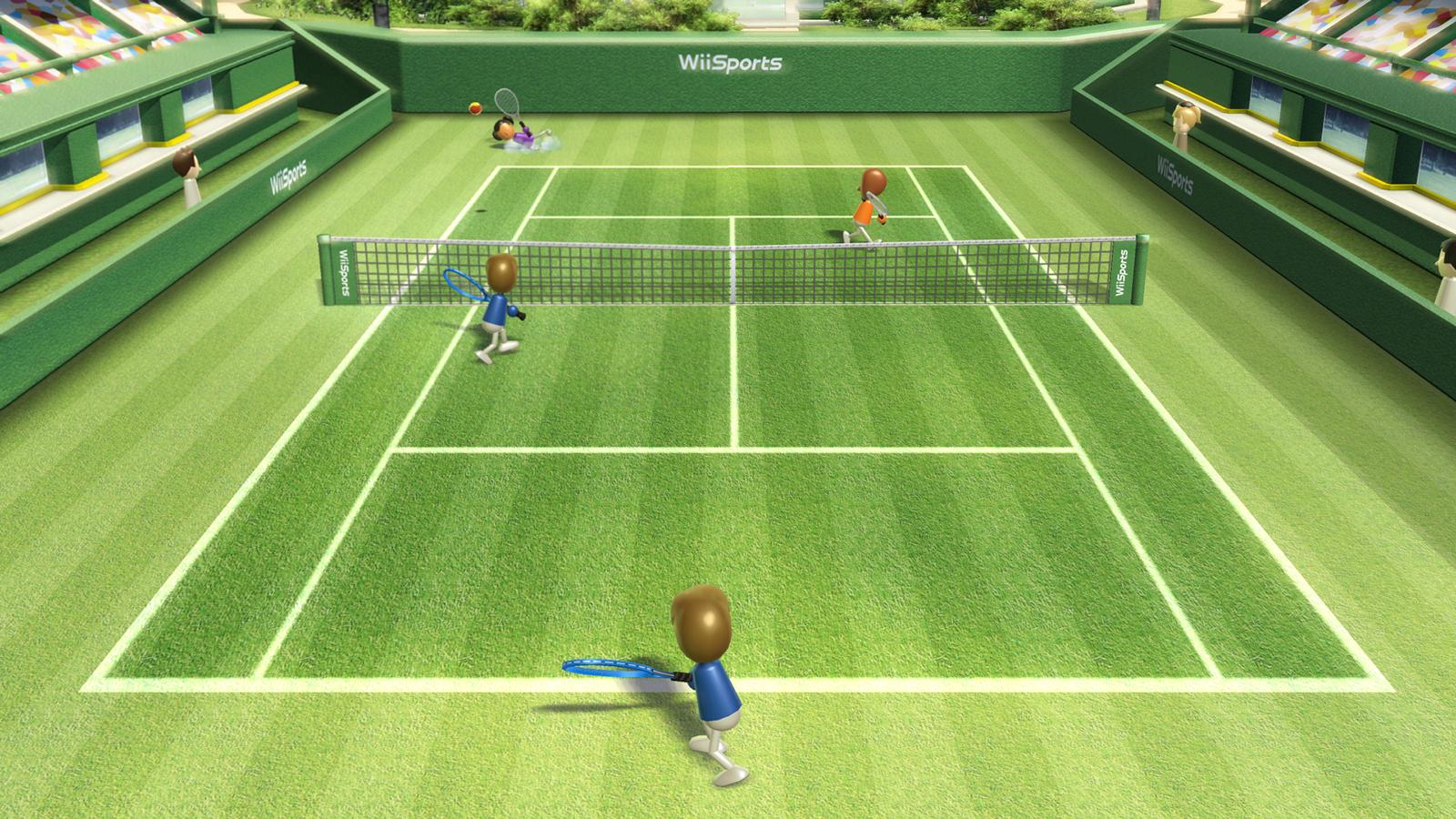 wii sports tennis club games minigames jeff
