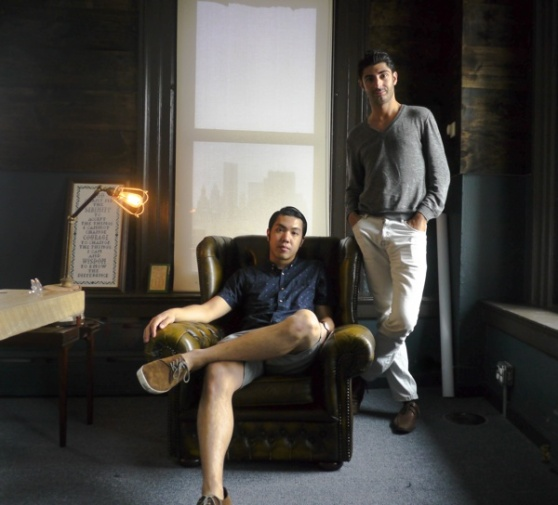 WunWun's co-founders: Left, CTO Calvin Lai, right, CEO Lee Hnetinka.