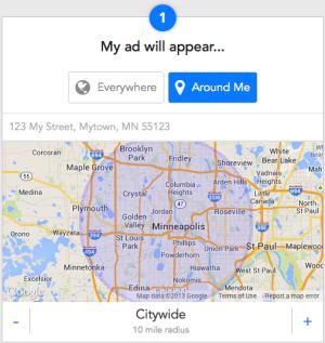 1 - Choose location