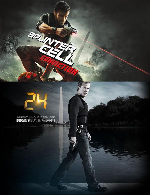 24 Splinter Cell promo