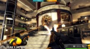 Ballistic screen shot