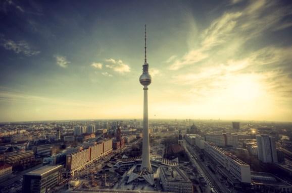 Berlin in the evening