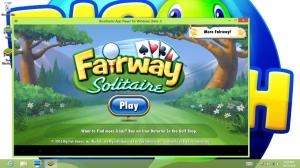 Fairway Solitaire on Big Fish Games' PC app.