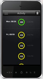 Breathometer app
