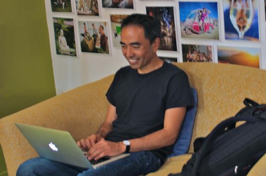 Tony Esponiza, former CEO of Couchsurfing