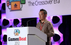"Dan ""Shoe"" Hsu at GamesBeat 2012"