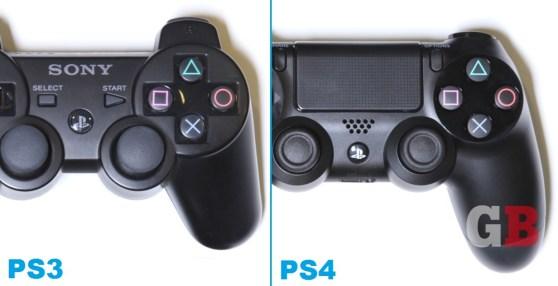 DualShock 3 vs. DualShock 4 - grips