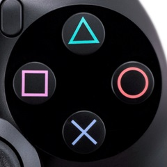 DualShock 4 - face buttons