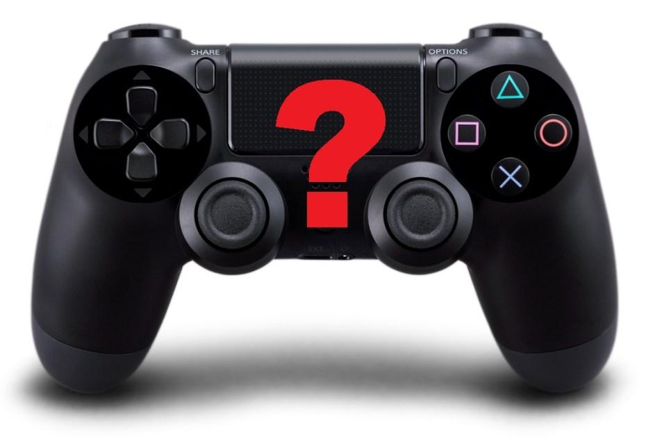 DualShock 4 question mark