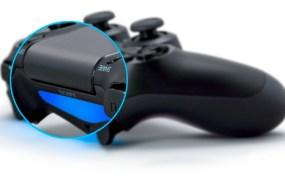 DualShock 4 - touchpad, lightbar