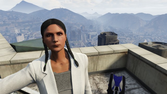 Pick up a parachute from the top of Los Santos' tallest buildings