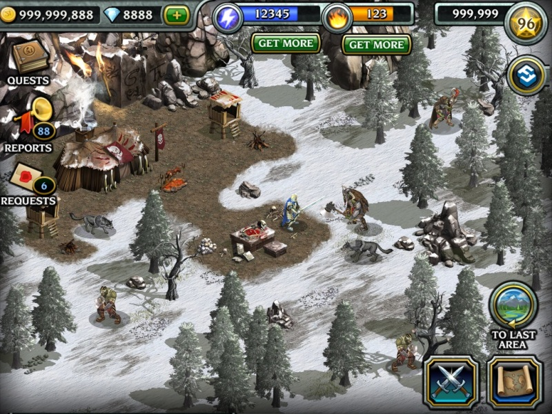 Gree's Dragon Realms for iOS and Android.
