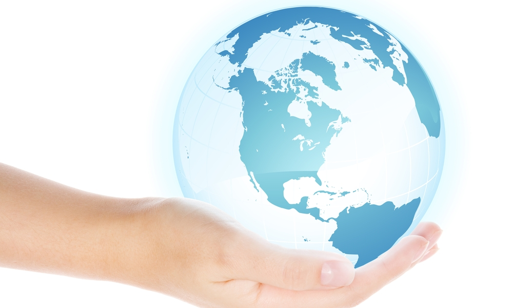 The world's top sites are located somewhere in this person's palm