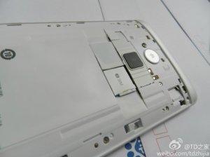 A close-up look at the One Max's fingerprint sensor