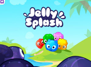 Jelly Splash Title Screen