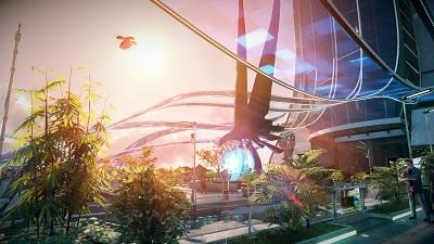 Killzone: Shadow Fall outdoor environment