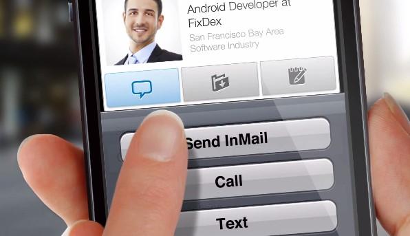 LinkedIn's Mobile recruiter app