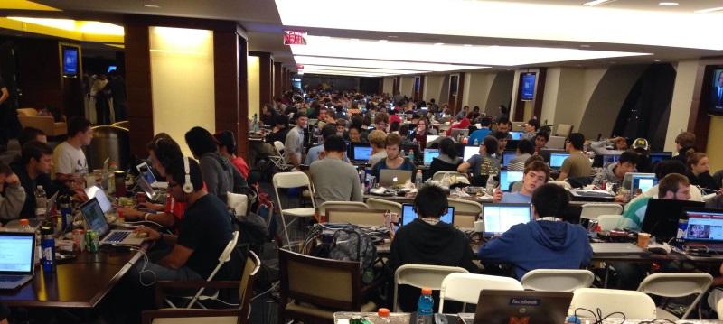 MHacks hackathon at the University of Michigan, Ann Arbor