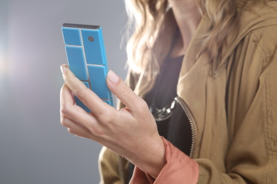 Motorola's advanced division's Project Ara modular smartphone