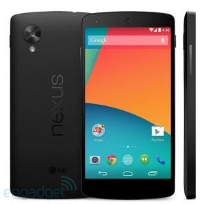 Nexus 5 Google Play Store leak