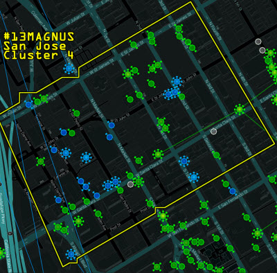 Ingress smartphone screen
