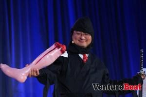Ninja Dean Takahashi's deadliest weapon? His smile.