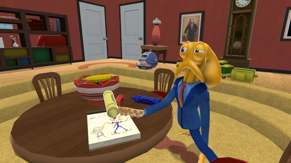Octodad's flailing attempts at normalcy were always charming.