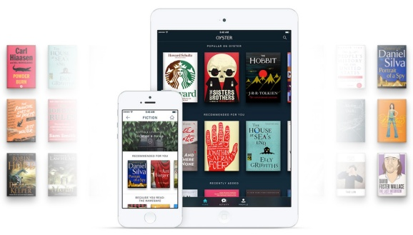 Oyster now offers an iPad app