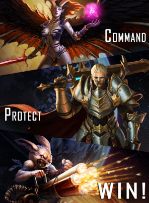 Perfect World Arena of Heroes mobile game