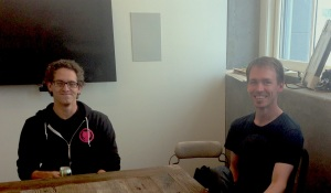 Github CIO Scott Chacon and product lead Tim Clem